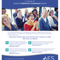 Free Lecture Series in Honor of National Parkinson's Awareness Month