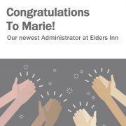 Marie's Congrats
